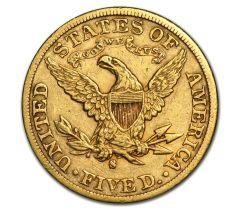 5 Amerikaanse dollar - Half Eagle