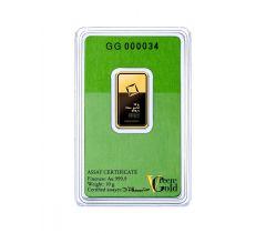 Goudbaar 10 gram - Valcambi Green Gold