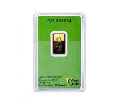 Goudbaar 5 gram - Valcambi Green Gold