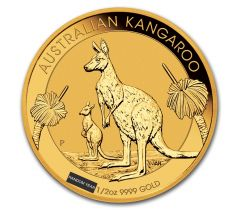 Kangaroo - 1/2 troy ounce
