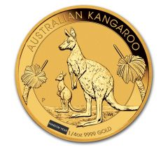 Kangaroo - 1/4 troy ounce