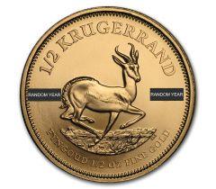 Krugerrand - 1/2 once troy