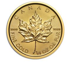 Maple Leaf - 1/4 troy ounce