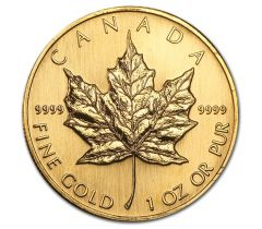 Maple Leaf - 1 troy ounce - '80 - '90