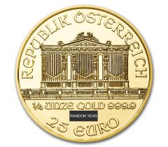 Vienna Philharmonic - 1/4 troy ounce